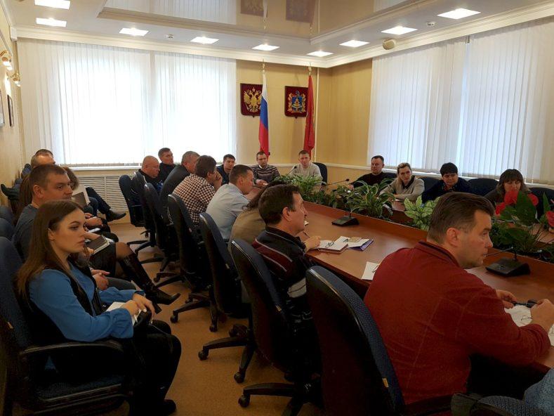 22 января прошло обсуждение комплекса ВФСК ГТО