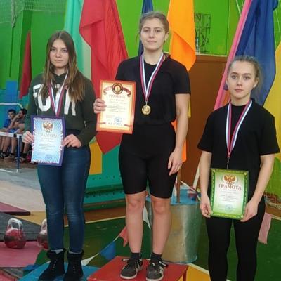 Соревнования по гиревому спорту в п. Добрунь