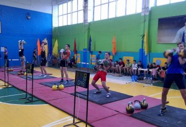 Итоги соревнований по гиревому спорту