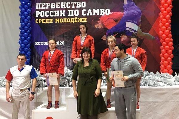 Ольга Дарымова завоевала «бронзовую» медаль среди  юниорок