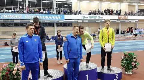 Легкая атлетика, два рекорда первенства России