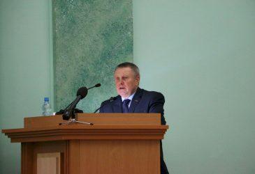 Заседание законодательного собрания Владимира Попкова