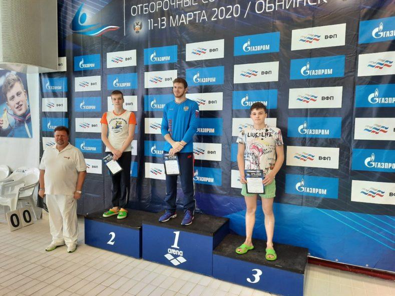 Выступление пловцов сборной команды  Брянской области