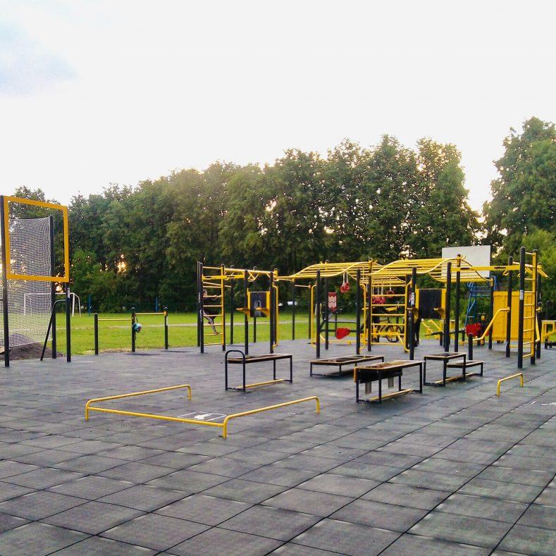 В Рогнединском районе появилась новая малая спортивная площадка ГТО