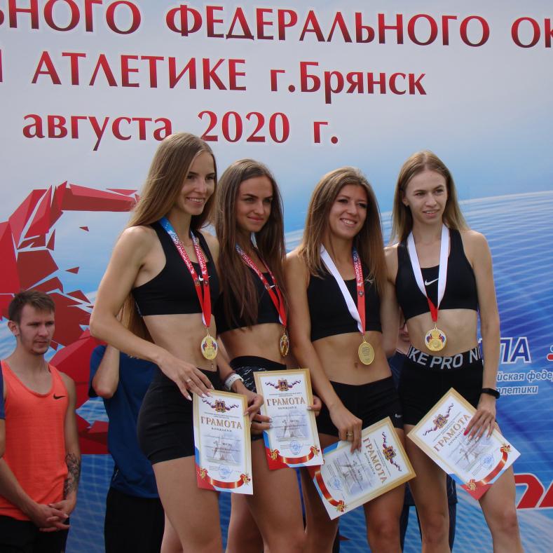 Результаты Чемпионата и Первенства ЦФО по легкой атлетике