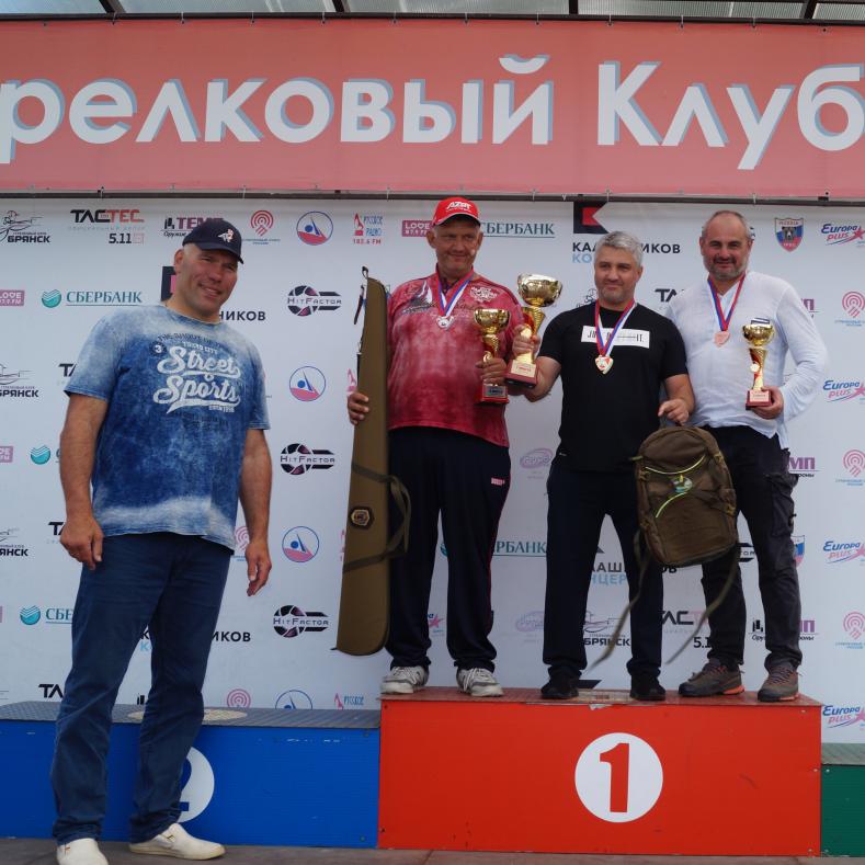 Итоги Чемпионата России по стендовой стрельбе