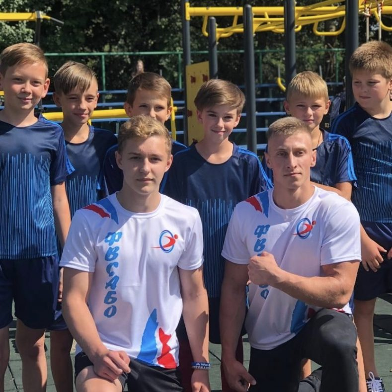 Торжественное открытие малой спортивной площадки ГТО в Рогнедино