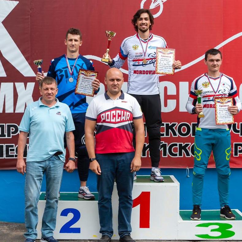 Итоги Кубка России по велосипедному спорту (дисциплина - ВМХ) - 2 этап