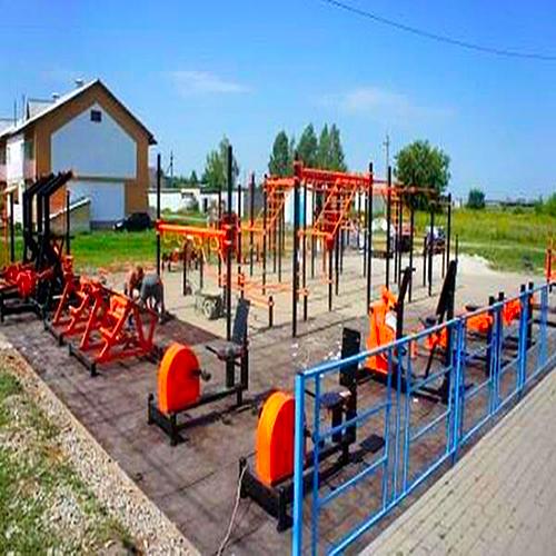 Открытие малой спортивной площадки ГТО в Жирятино