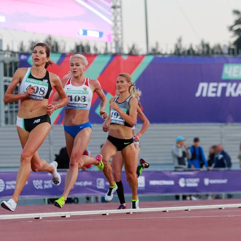 Итоги Первенства России по легкой атлетитке