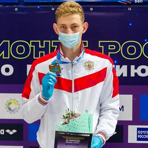 Новые рекорды от Бородина Ильи на Чемпионате России по плаванию