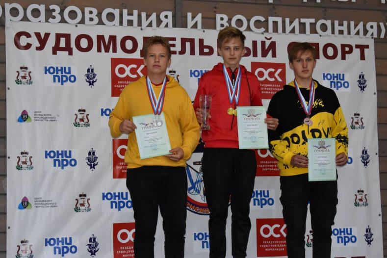 Первое место в открытом Первенстве Смоленской области по судомодельному спорту