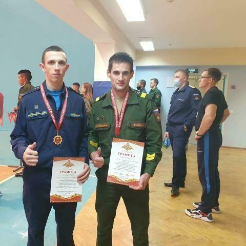 Серебряная медаль на Кубке Вооруженных сил РФ по гиревому спорту
