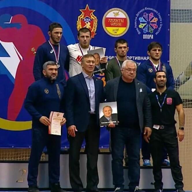 Итоги Чемпионата России по спортивной борьбе среди мужчин