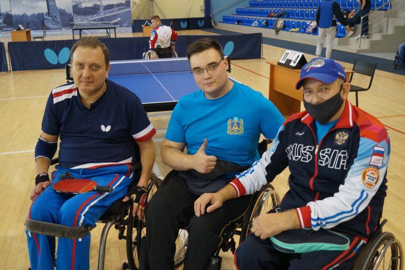 В Брянске прошли Всероссийские соревнования по настольному теннису  среди лиц с ПОДА