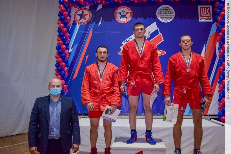 В Кстово прошел Кубок России по самбо