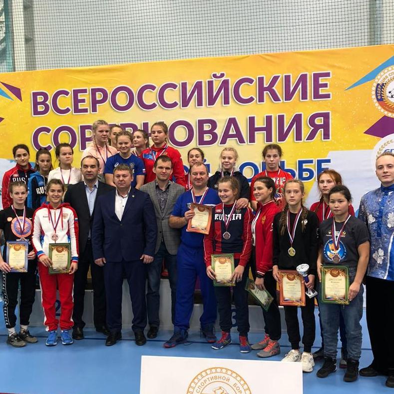 Итоги Первенства России по спортивной борьбе