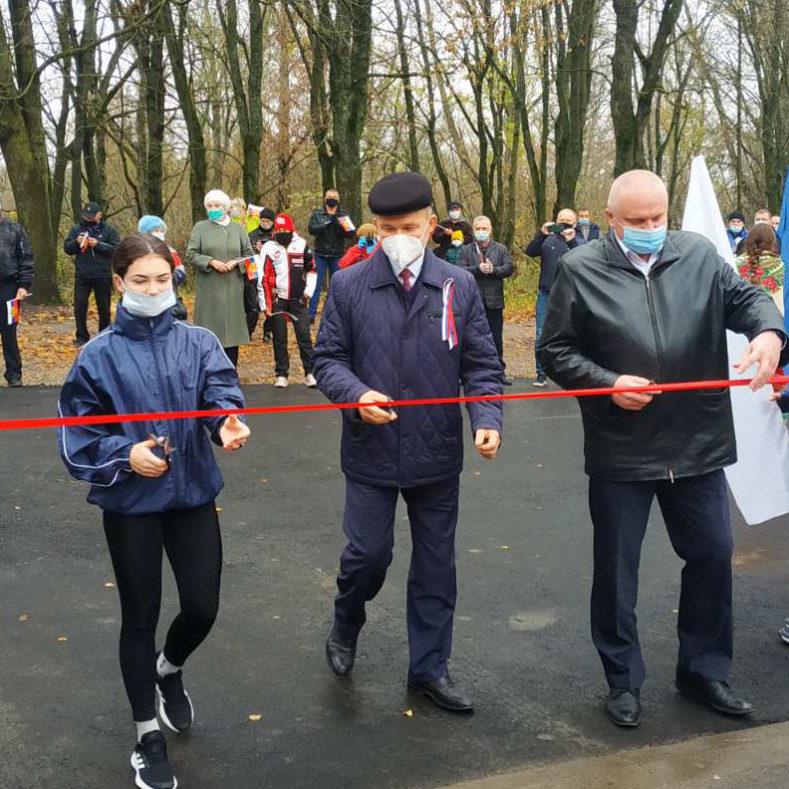 """Открытие стадиона """"Снежеть"""" в Карачеве"""