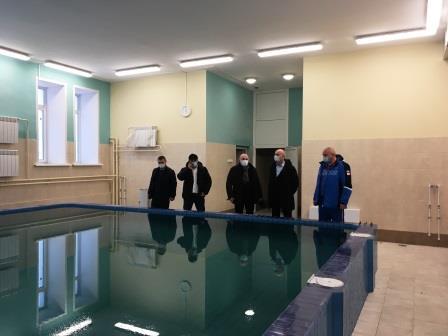 Заместители Губернатора Александр Коробко и Юрий Мокренко посетили город Дятьково с рабочим визитом