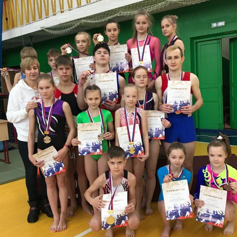 Итоги Чемпионата и Первенства Брянской области по прыжкам на батуте