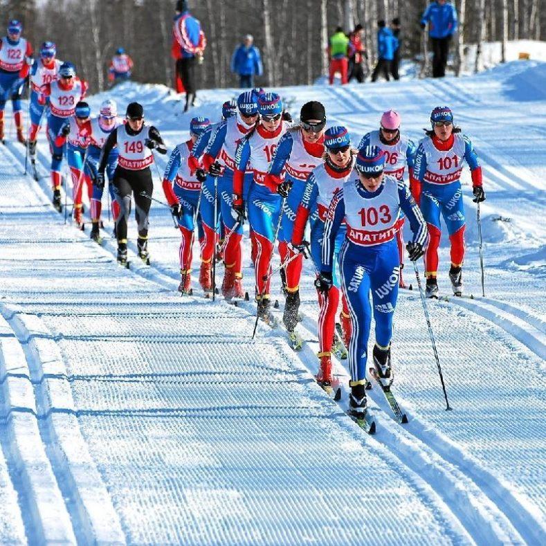 Гурьянова Алина - победительница Первенства ЦФО по лыжным гонкам!