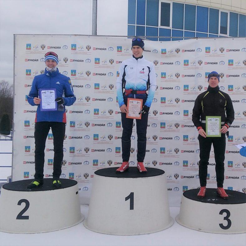 Ковалев Максим - победитель Чемпионата ЦФО по лыжным гонкам