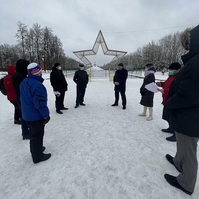Совещание по организации Всероссийской массовой лыжной гонки «Лыжня России».