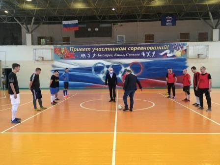 Заместители Губернатора открыли Чемпионат Дятьковского района по мини-футболу среди мужчин