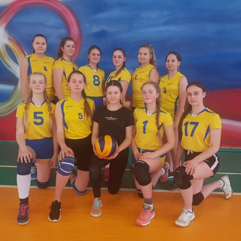 Промежуточные итоги в играх Первенства Брянской области по волейболу