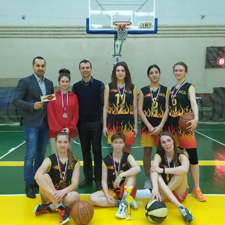 Итоги Чемпионата Брянской области по баскетболу среди студенческих команд