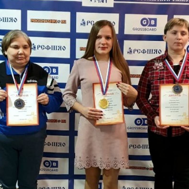 Результаты Чемпионата и Первенства ЦФО по шашкам