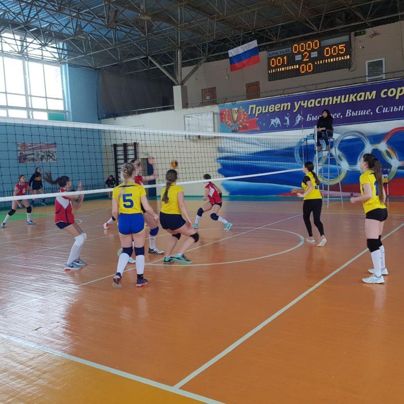 Итоги 3 тура Чемпионата и Первенства Брянской области по волейболу