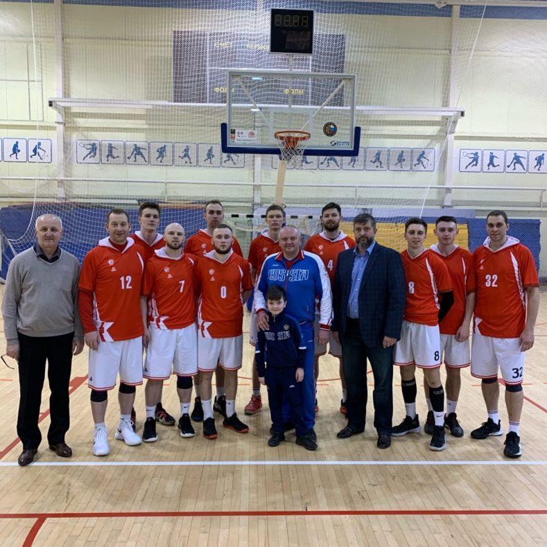 Итоги тура Первенства России среди мужских команд по баскетболу