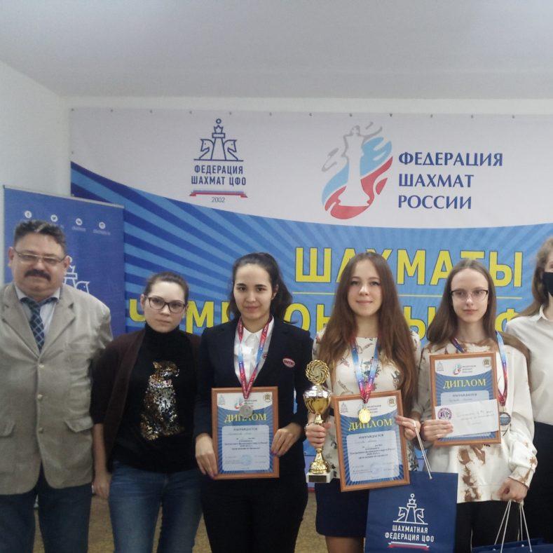 Итоги чемпионата ЦФО среди женщин по шахматам