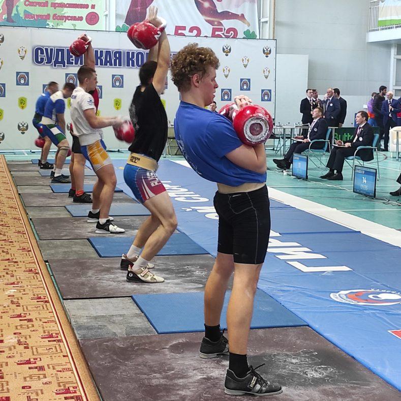 Итоги Первенства России по гиревому спорту
