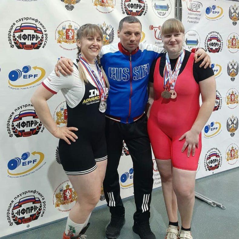 Первые итоги Чемпионата России по пауэрлифтингу среди женщин