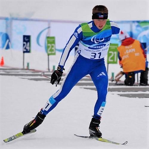 Олег Балухто - бронзовый призер Чемпионата России по лыжным гонкам и биатлону