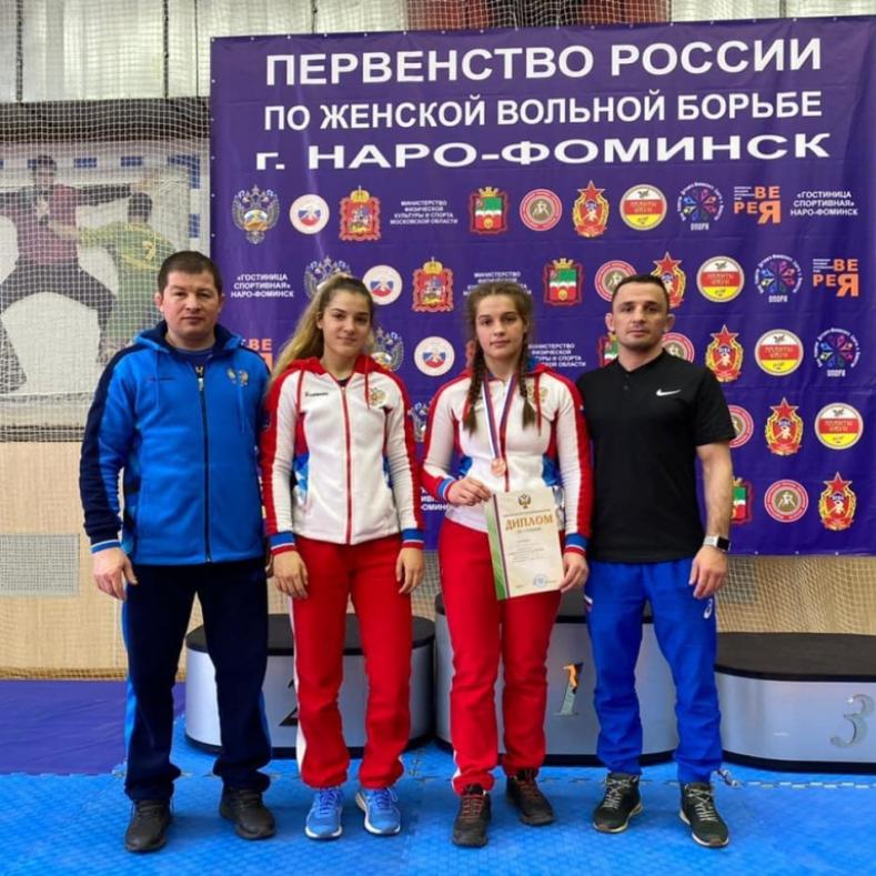 Итоги первенства России среди девушек до 18 лет по спортивной борьбе