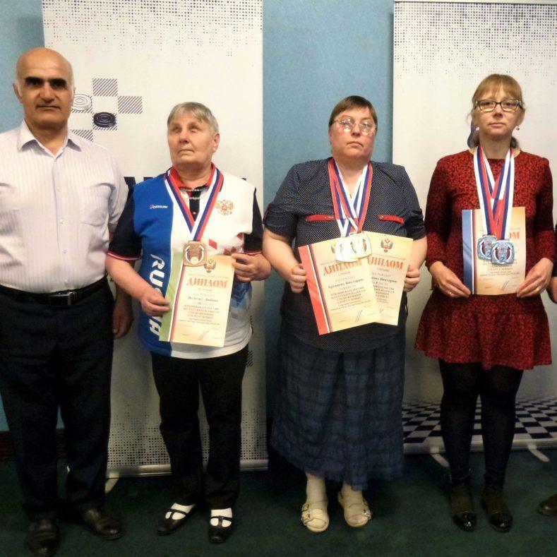 Итоги Чемпионата России по русским шашкам (спорт слепых)