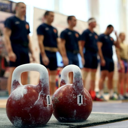Чемпионат Брянской области по гиревому спорту в Добруни