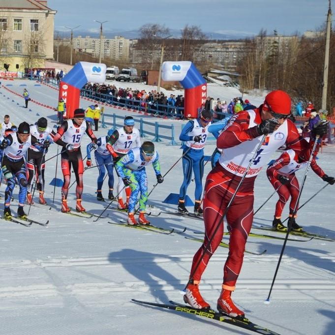 Первенство России по лыжным гонкам в Мончегорске