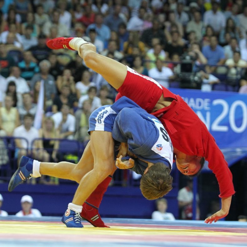 2 этап V летней Спартакиады молодежи России 2021 года по самбо
