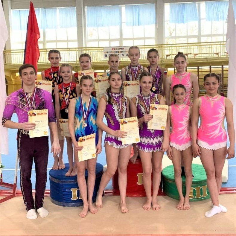 Итоги Чемпионата Брянской области по спортивной акробатике