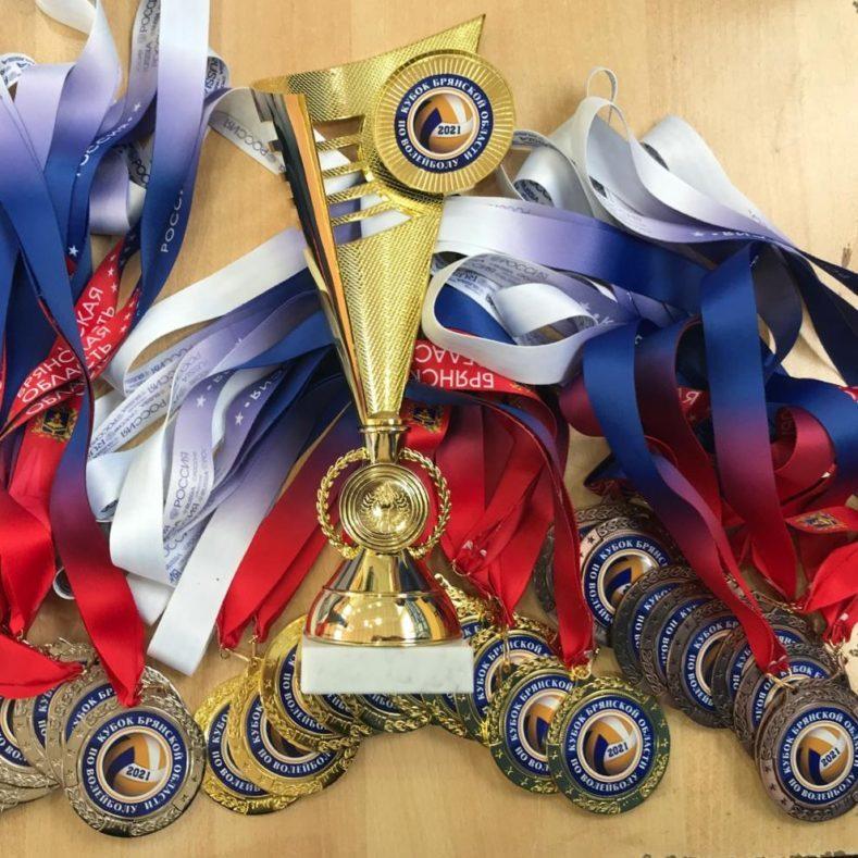 Итоги финальных игр Кубка Брянской области по волейболу