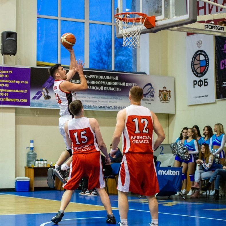 Игры Чемпионата Брянской области по баскетболу