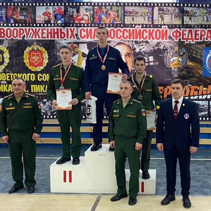 Бронза на Кубке Вооруженных сил РФ по гиревому спорту