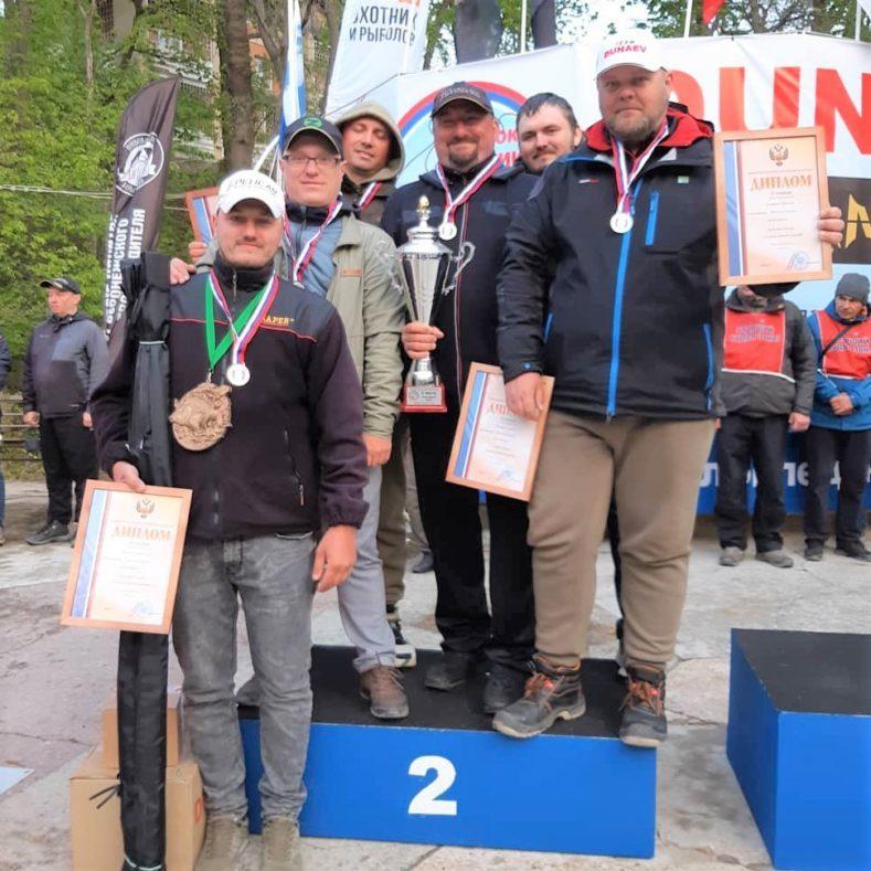 Серебро на Кубке России по рыболовному спорту!