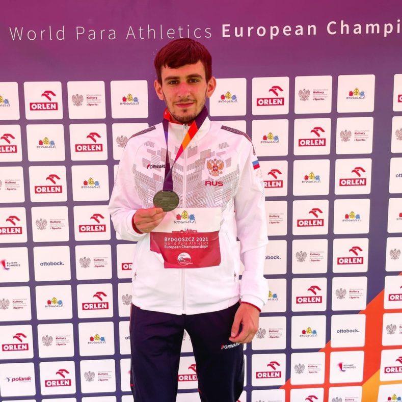Калашян Артем серебряный призер Чемпионата Европы