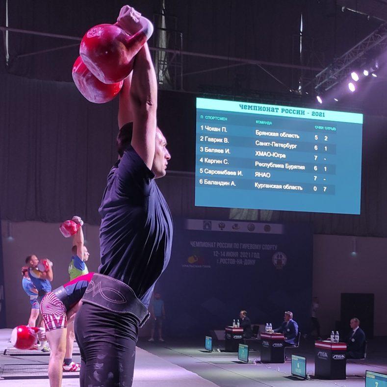 Итоги Чемпионата России по гиревому спорту