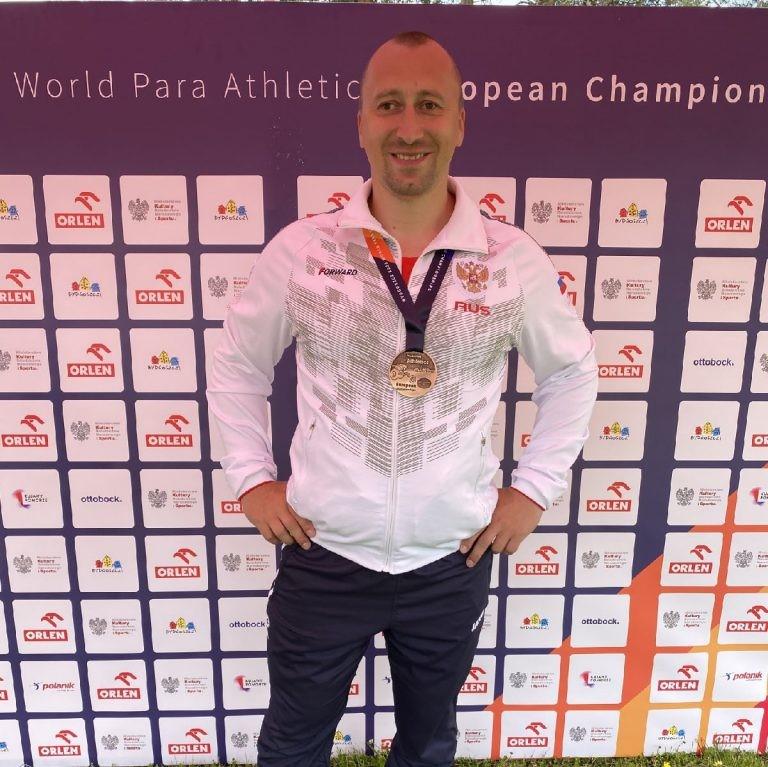 Сергей Шаталов бронзовый призер Чемпионата Европы